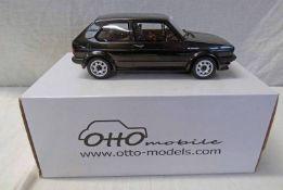 OTTO 1:18 SCALE OT 124 VW GOLF (REAR WINDSCREEN MISSING).