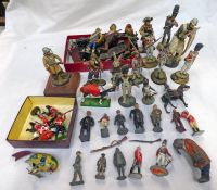 SELECTION OF VINTAGE LEAD TOY SOLDIERS AND OTHERS