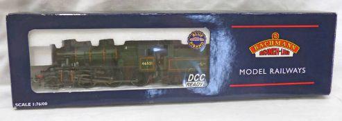 BACHMANN 32-825 00 GAUGE IVATT CLASS 2MT 2-6-0 46521 BR LINED GREEN L/CREST .