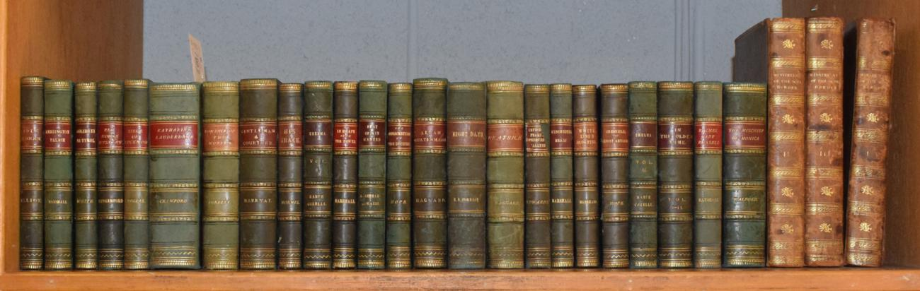 Lot 16 - A collection of leather bound books (twenty-seven volumes)
