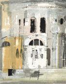 John Egerton Christmas Piper CH (1903-1992) ''Chiesa della Salute'' (1960) for Sanderson and Sons