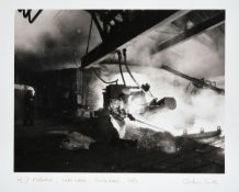 Graham Smith (b.1947) ''No.5 Furnace, Clay Lane, Southbank'' Signed, inscribed and dated 1983,