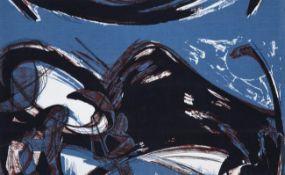 Anthony Harrison (1931-2012) ''Matador'' (1958) for Edinburgh Weavers Printed cotton, 34cm by 55cm