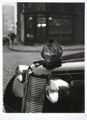 Thurston Hopkins (1913-2014) ''Keeping Warm, Islington, London'' Signed, inscribed ''Islington