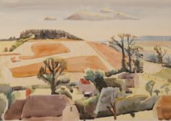 Edith Lawrence (1890-1973) ''Glen Lyon'' Signed and inscribed, watercolour, together with three
