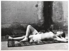 Manuel Álvarez Bravo (1902-2002) Mexican ''La Buena Fama Durmiendo'' (Good Reputation, Sleeping)