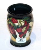 A Moorcroft 'Kapok Tree' vase. First quality, 13.5cm high. Good condition.