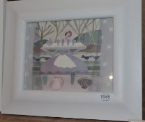 Madeline Hand (b.1959) Scottish ''Table Service'' Signed, watercolour, 19.5cm by 24.5cm