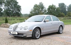 Jaguar S-Type V8 Automatic Saloon Registration number: J40 AGU (Cherished Number)
