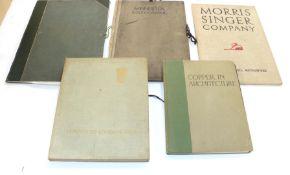 Morris Singer Company Architectural Metalwork, no date, folio, 51 pages, original cloth [Morris