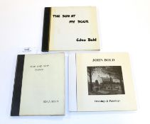 John Bold Bold (Edna) How and Why, Etcetera, no date, inserted are three photographs (two of John