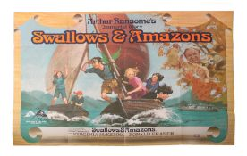 Swallows and Amazons Arthur Ransome's 'Swallows and Amazons' film poster, Bradford: W. E. Berry,