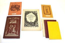 Golden Cockerel Press Swinburne (Algernon Charles), Hymn to Proserpine, Golden Cockerel Press, 1944,