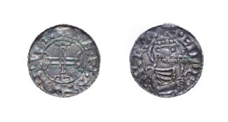 Edward The Confessor, 1042 - 1046, Hastings Mint Penny. 1.07g, 19.2mm, 12h. Pointed helmet type,