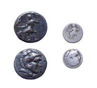 Alexander III, The Great, Tetradrachm, Posthumus issue, Late 4th Century B.C. 16.89g, 26.1, 1h. Obv: