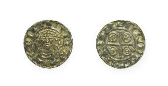 William I, 1066 - 1087, London Mint Penny. 1.38g, 18.8mm, 4h. Paxs type, Aewi at London. Obv: