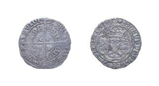 Henry VII, 1493 - 1495, London Mint Groat. 2.80g, 25.9mm, 1h. Mintmark escallop. Obv: Crowned bust