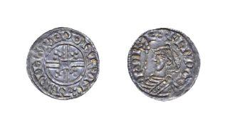 Edward The Confessor, 1042 - 1046, London Mint Penny. 1.00g, 18.5mm, 3h. Trefoil quadrilateral type,
