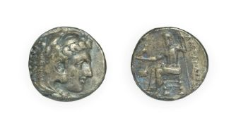 Alexander III, The Great, Silver Tetradrachm, 336 - 323 B.C. Lifetime issue, Amphipolis mint. 17.