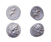 Alexander III, The Great, Silver Tetradrachm, 336 - 323 B.C. Lifetime issue. 16.77g, 26.4mm, 12h.