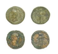 Domitian, Copper As, Rome, 90 - 91 A.D. 10.54g, 27.6mm, 7h. Obv: IMP CAES DOMIT AVG GERM COS XII