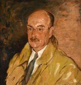 Alexander Jamieson (1873-1937) Scottish Self portrait Oil on canvas, 63cm by 51.5cm Sold together