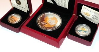 Canada, 5 Ounce Silver 50 Dollars 2013 struck by The Royal Canadian Mint to commemorate the 25th