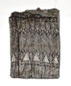 Black assuit shift dress (a.f.)