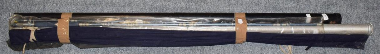 A Hardy ''Graphite Salmon Fly'' 3 Section Carbon Salmon Fly Rod, 15'-4'' #10, A Craddock 2 section
