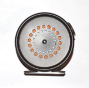 A Hardy Prefect 3 3/8'' Trout Fly Reel with ceramic line guard.