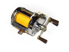 A Hardy Elarex Multiplier Reel with box