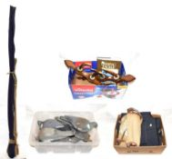 A Collection Of Mixed Tackle comprising of Orvis neoprene chest waders and boots, A Hardy canvas