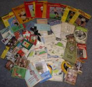 Football Related: An Interesting Collection Of Programmes And Booklets including FA Amateur Cup: