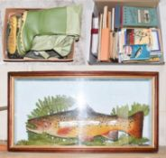 A Collection Of Mixed Tackle to include reels by Young's and BFR, Lure boxes by Hardy and