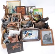 Capercaillie Bird Collectibles - a large collection of collectibles relating to European