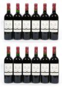 Château Haut-Gravet, 1998, Saint-Émilion Grand Cru (twelve bottles)