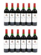 Château Musar 1995, Lebanon (twelve bottles)
