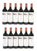 Château Mouton Rothschild 1996 Pauillac (twelve bottles)