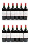 Château Lynch Bages 1996 Pauillac (twelve bottles)