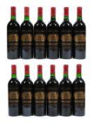 Château Palmer 1987 Margaux (twelve bottles)