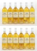 Château Talbot Caillou Blanc 1999 (twelve bottles)