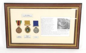 A Rhodesian Group of Three Medals, to Mr T Shonya Principal District Assistant,