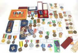A Collection of World Medals,
