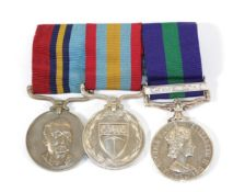 A Group of Three Medals to WO1 M V O'Neill,