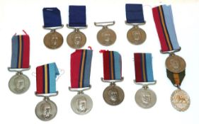 A Collection of Eleven Rhodesian Medals:- Rhodesian GSM & Territorial to PR30062 Rfn R R Howlett;