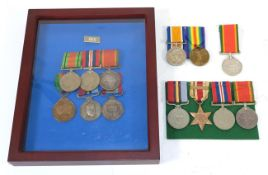 A Collection of South African Medals:- a First World War Pair, to Cpl J W Rhodes S.A.R.O.D.