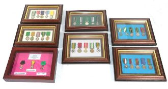 A Collection of Miniature Medals,