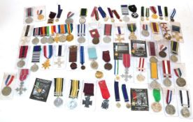 A Quantity of Copy Medals, mainly British campaign, gallantry and General Service,