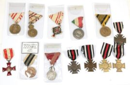 A Collection of Twelve German and Austro-Hungarian Medals,
