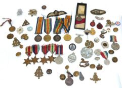 Two First World War Pairs, each comprising British War Medal and Victory Medal,